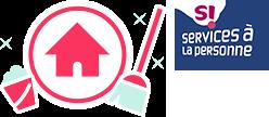 Logo menage et moi et service à la personne Nord